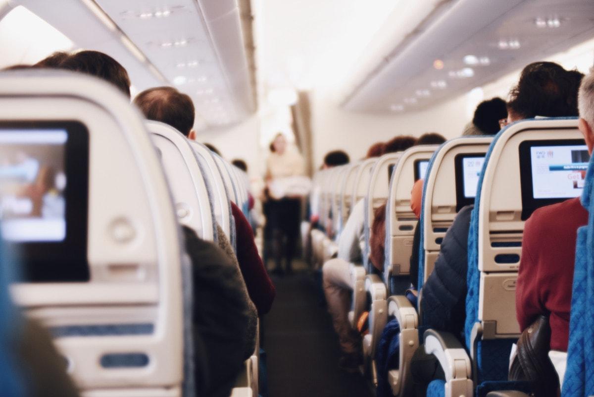 Cabina passeggeri aereo