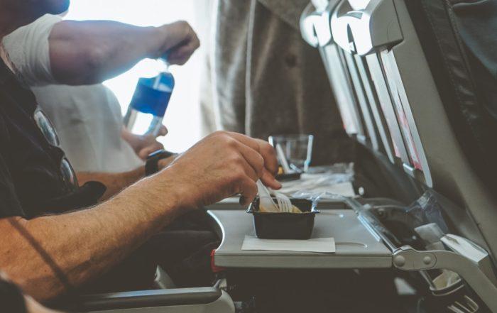 Cibo a bordo aereo