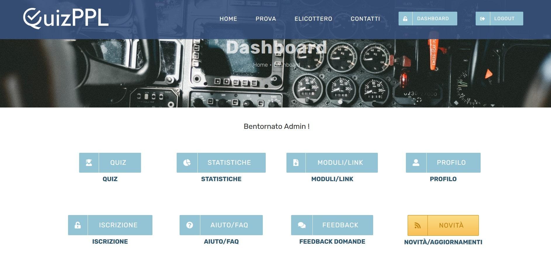Dashboard QuizPPL
