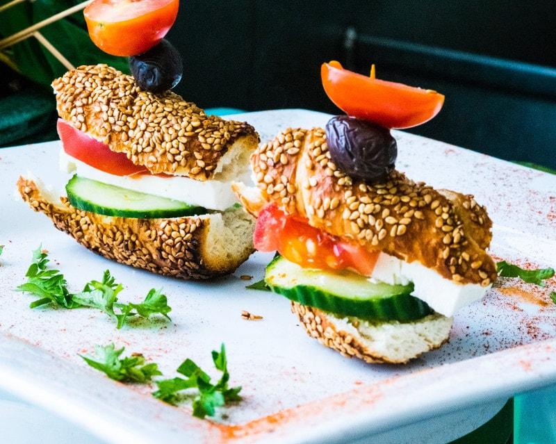 Sandwich con olive