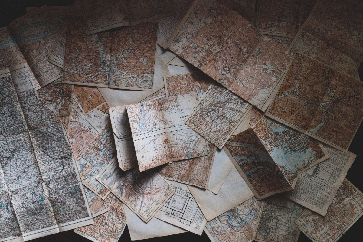 Mappe e cartine di navigazione