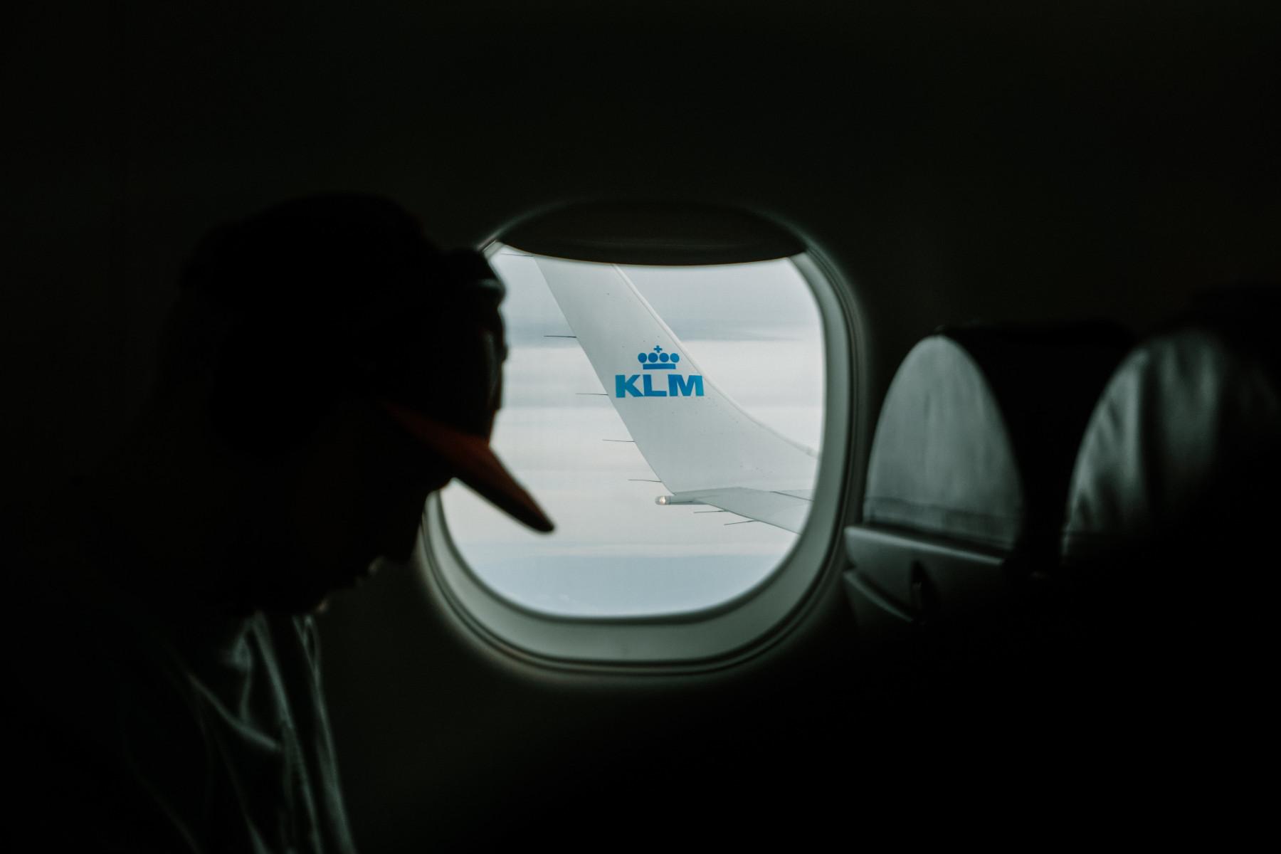 Finestrino Aereo KLM